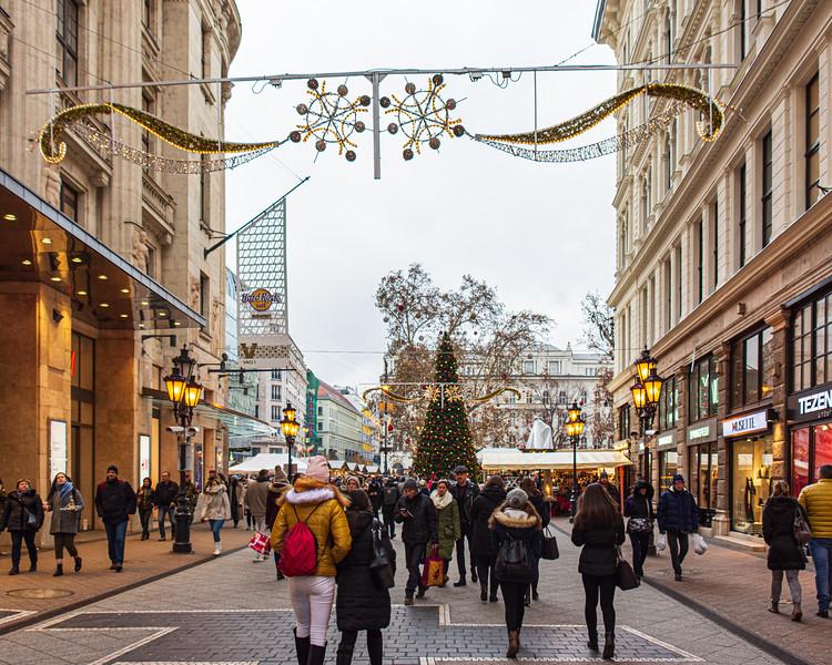 Váci Street - Budapest, Hungary, EU
