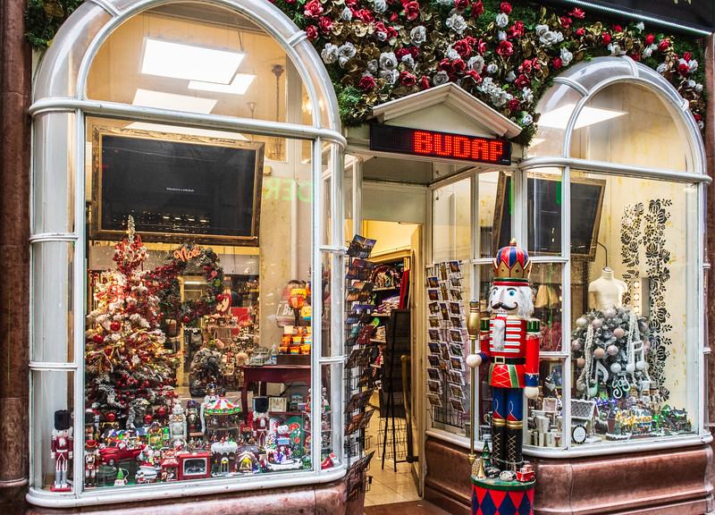 Budapest & Music Souvenir Shop on Vaci Utca - Budapest, Hungary