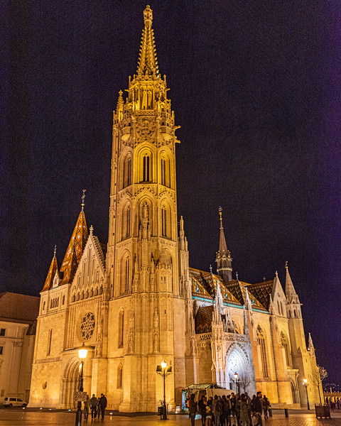 Matthias Church @ Holy Trinity Square - Budapest, Hungary, EU