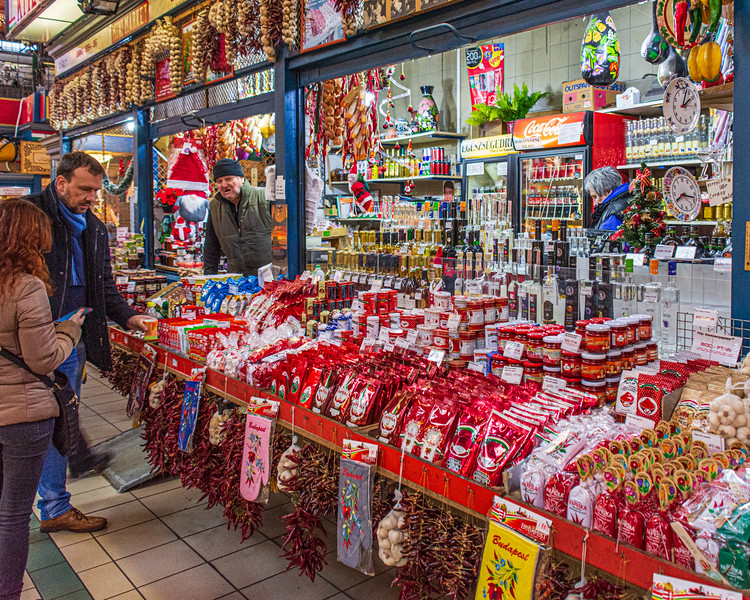 Paprika @ Great Market Hall - Budapest, Hungary, EU