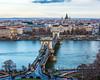 Széchenyi Chain Bridge c. 1849 - Budapest, Hungary, EU