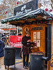 Roasting Chestnuts @ Christmas Market on Vörösmarty tér - Budapest, Hungary
