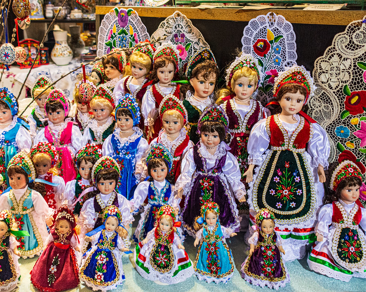 Hungarian Dolls @ Great Market Hall - Budapest, Hungary, EU