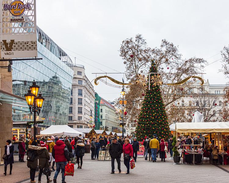 Vörösmarty Square - Budapest, Hungary, EU