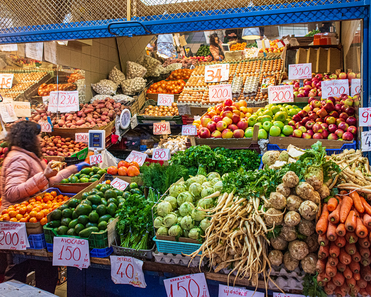 Vegetables @ Great Market Hall - Budapest, Hungary, EU