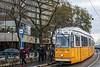 Tram Line 2 from Közvágóhíd to Jászai Mari Square - Budapest, Hungary
