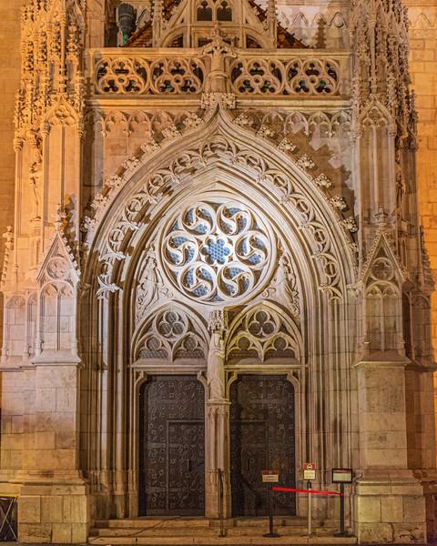 Virgin Mary Gate @ Matthias Church - Budapest, Hungary, EU
