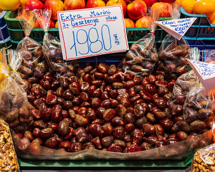 Chestnuts @ Great Market Hall - Budapest, Hungary, EU
