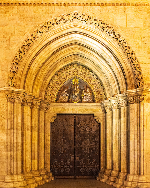 Western facade @ Matthias Church - Budapest, Hungary, EU