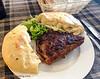 Pljeskavica & Lepinja Bread @ te Syla Restaurant- Prizren, Kosovo