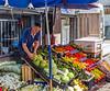Shopkeeper  @ the Bazaar - Pristina, Kosovo