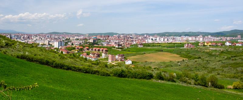 View of Prishtina - Kosovo