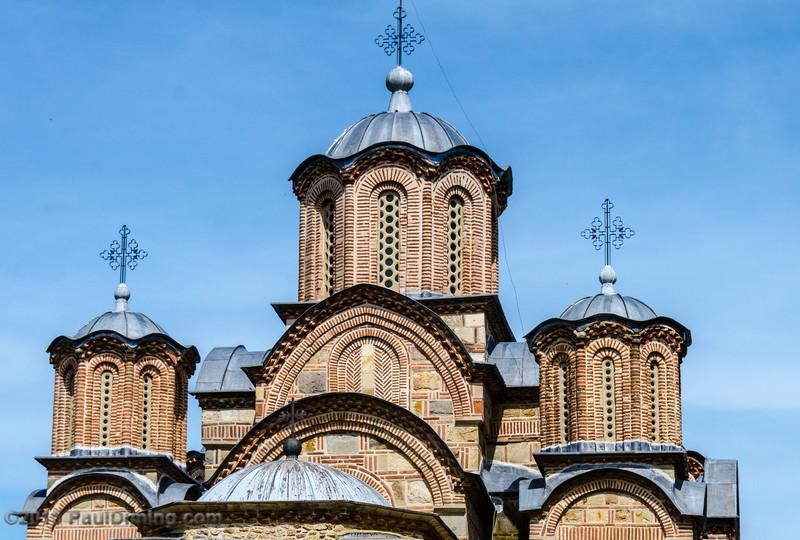Gračanica Monastery detail - Gračanica, Kosovo