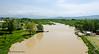 White Drin River from Fshajt Bridge - Dol, Kosovo