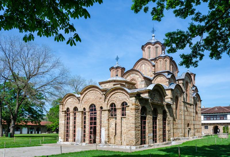 Gracanica Monastery c. 1321 - Gračanica, Kosovo