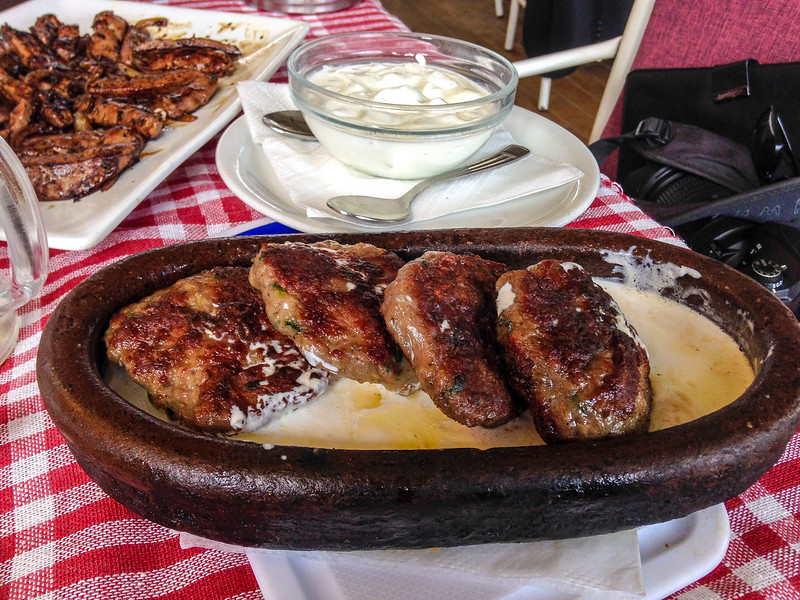 Qofte Prizreni - (Beef & Lamb) @ Te Pini - Pristina, Kosovo