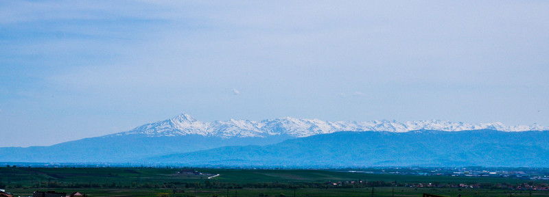 Snow-capped Mountains of Kosovo