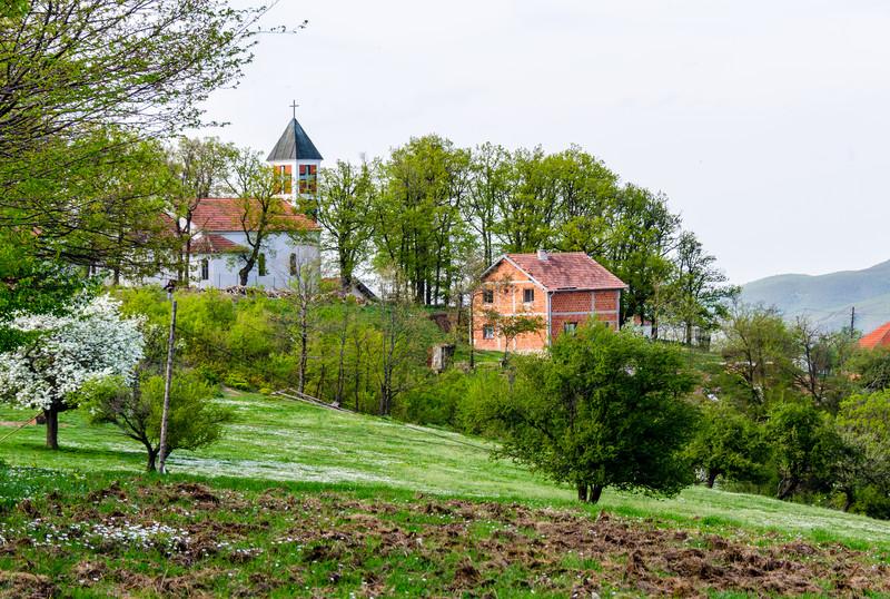 Brus Catholic Church - Brus, Kosovo