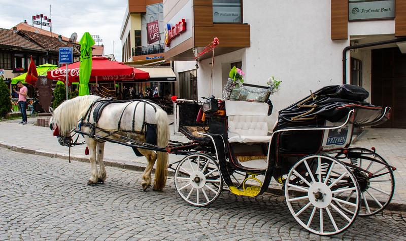 Shadervan Square Horse & Carriage - Prizren, Kosovo
