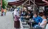 Cafe on Shadervan Square - Prizren, Kosovo