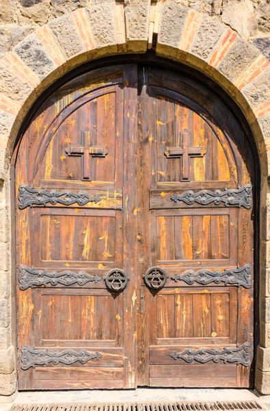 Gračanica Monastery Door - Gračanica, Kosovo