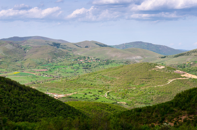 Looking Toward Brus - Brus, Kosovo
