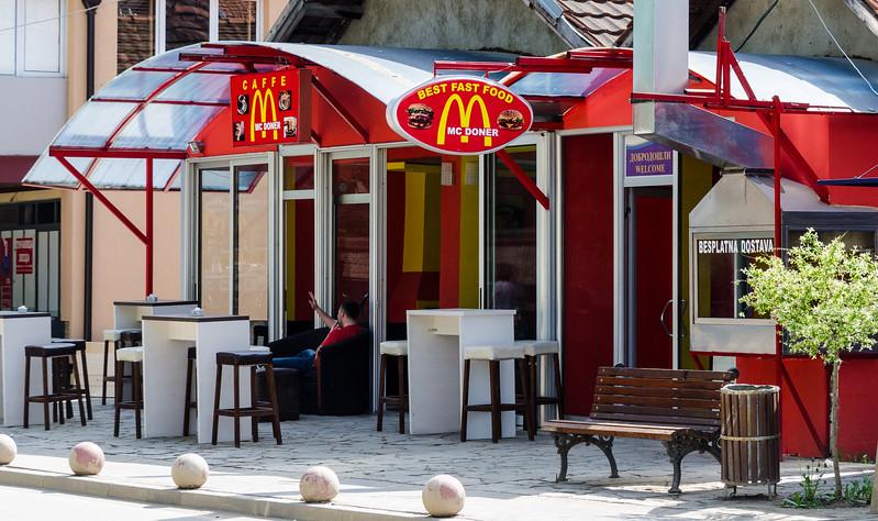 Mc Doner Restaurant - Gračanica, Kosovo