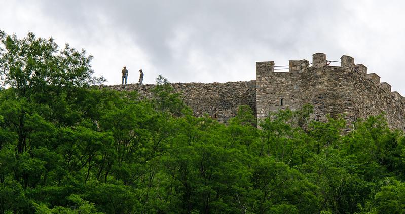 Kaljaja Fortress Wall - Prizren, Kosovo