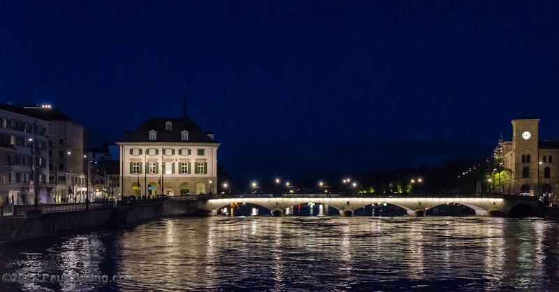 Helmhaus & Münsterbrücke - Zurich, Switzerland