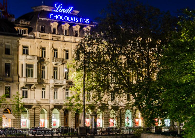 Lindt Chocolats Fins - Zurich, Switzerland