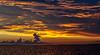 Post Sunset on Apalachicola Bay - Apalachicola, FL