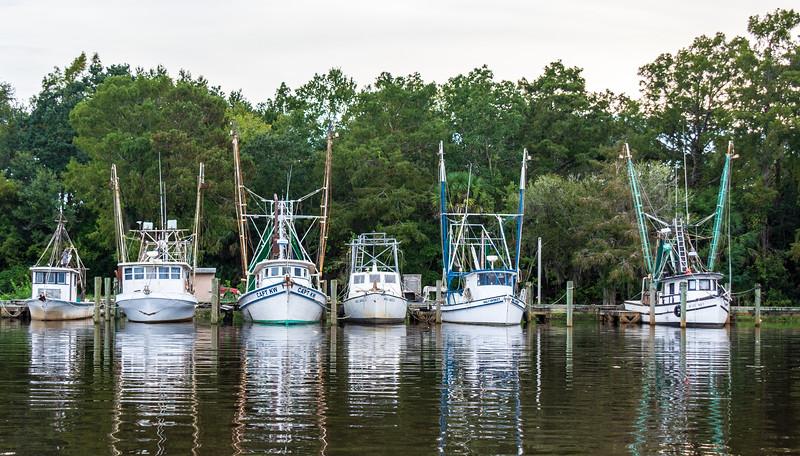 Mill Pond Marina on Scipio Creek, Apalachicola, FL