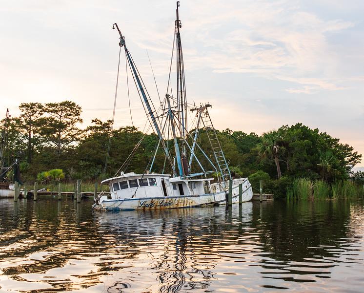 Lady Louise (port) on Scipio Creek, Apalachicola, FL