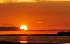 Sunset on Apalachicola Bay on Apalachicola Bay - Apalachicola, FL