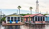 House Boats on Scipio Creek, Apalachicola, FL
