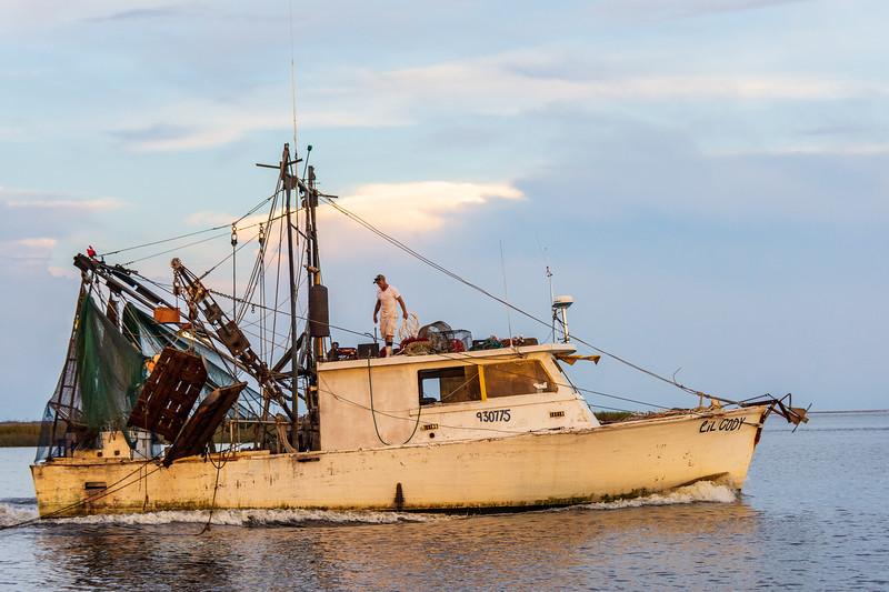 Lil Cody on the Apalachicola River, Apalachicola, FL