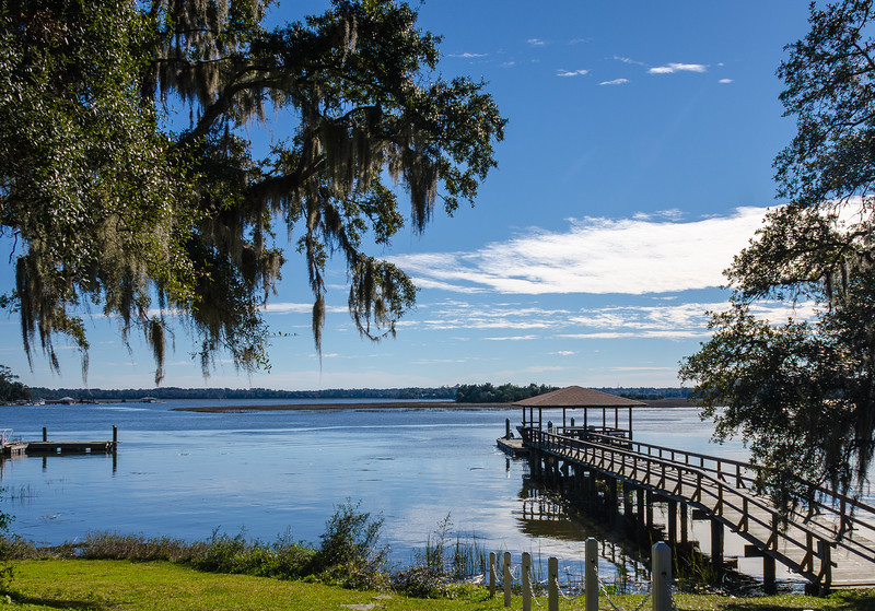 Dock on Skidaway River - Isle of Hope, Savannah, GA