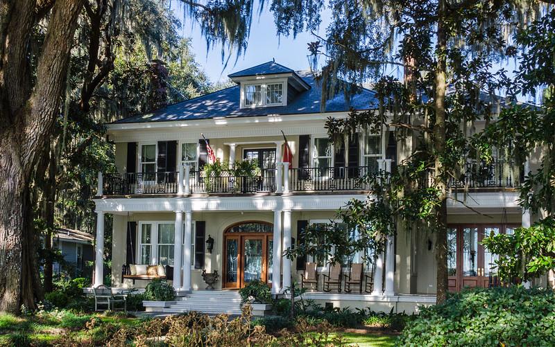 Stately Home on Bluff Drive - Isle of Hope, Savannah, GA