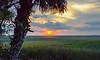 Sunset Over the Marshes II - Jekyll Island, GA