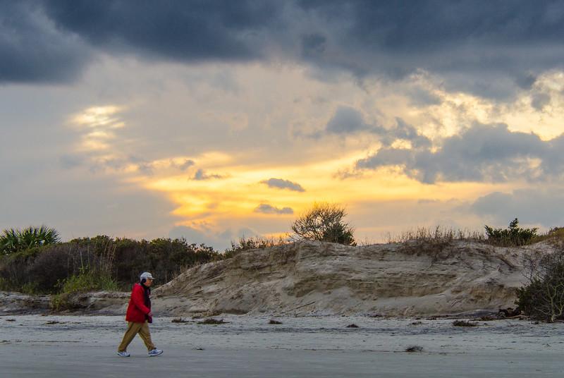Beach Walker - Jekyll Island, GA