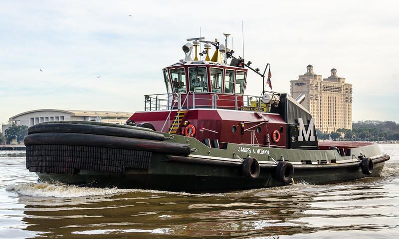 Tugboat James A. Moran - Savannah, GA