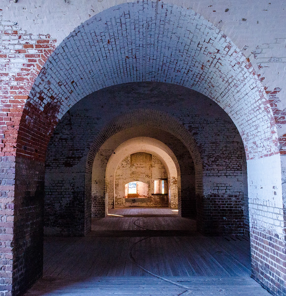 Northwest Bastion @ Fort Pulaski National Monument - Savannah, GA