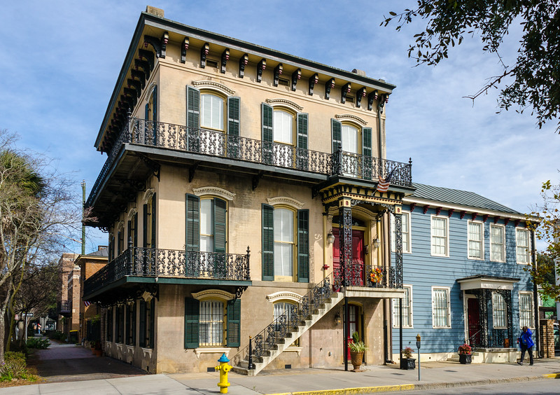 530 Broughton St. c. 1860 - Savannah, GA