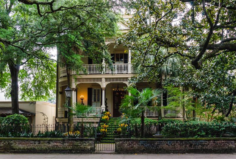 SCAD Magnolia Hall (Heyward House) c. 1878 - Savannah, GA