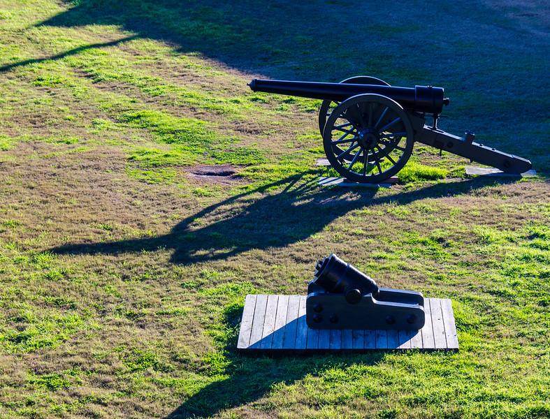 Parrot Rifle & Mortar @ Fort Pulaski National Monument - Savannah, GA