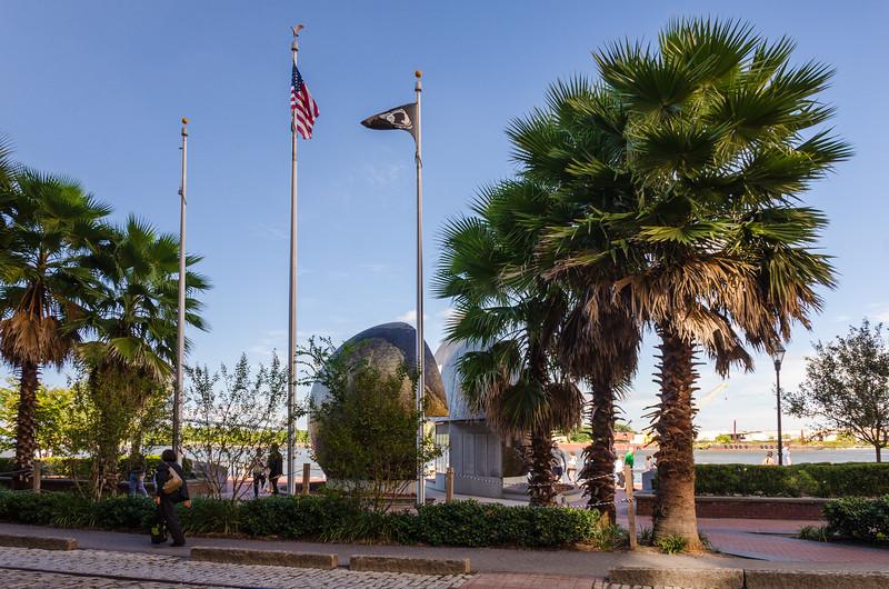 """Savannah World War II Memorial """"A World Divided"""" by Eric Meyerhoff"""