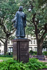John Wesley Monument in Reynolds Square Founder of Methodism - Savannah, GA