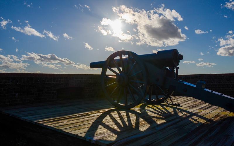 30 lb Parrot Rifle @ Fort Pulaski National Monument - Savannah, GA