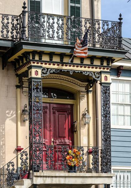 Entrance to 530 Broughton St. c. 1860 - Savannah, GA
