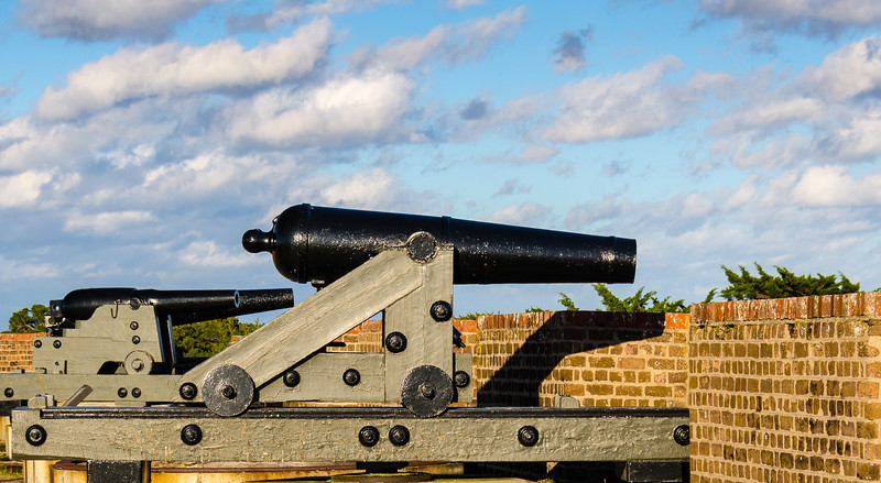 Cannon @ Fort Pulaski National Monument - Savannah, GA